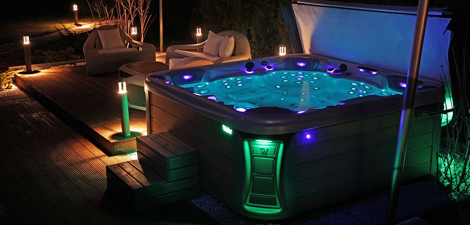 Jacuzzi Wellis EveRest basen SPA