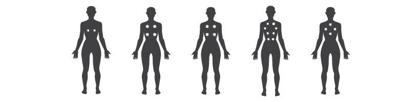 Earth massage points