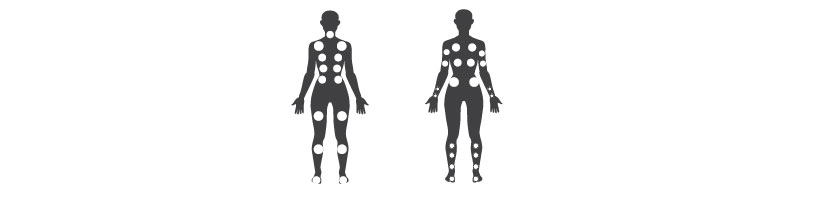Explorer massage points