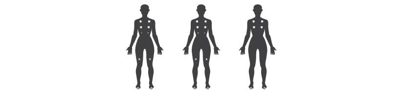 Sun P&P massage points