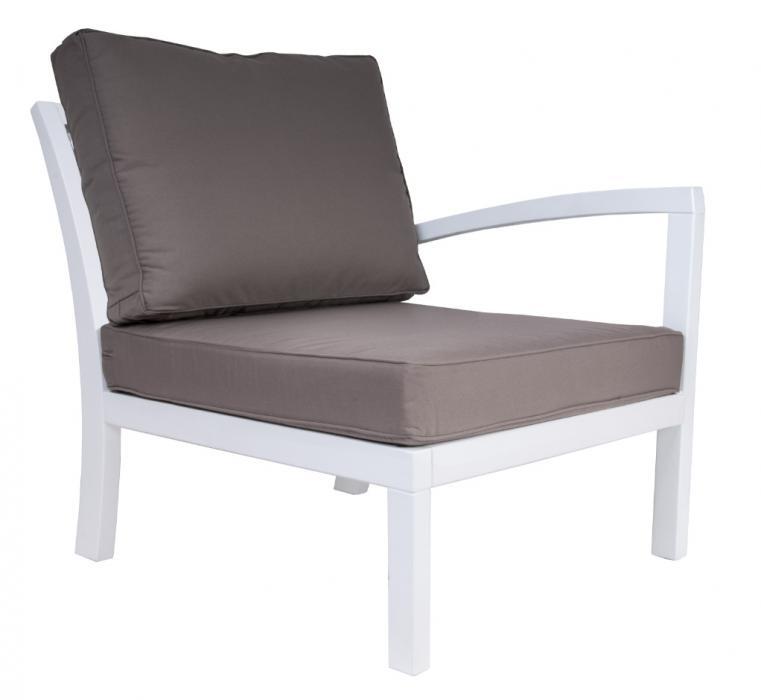 Fotel ROMA z lewym oparciem