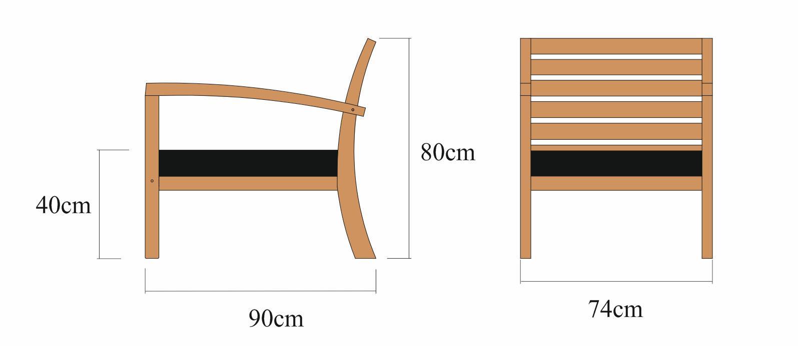 Krzesło MILANO z lewym oparciem milano